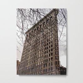 The Flatiron Building in NYC Metal Print