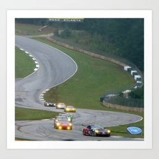 Road Atlanta Art Print