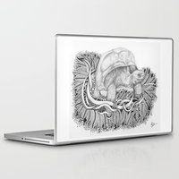 tortoise Laptop & iPad Skins featuring Tortoise by Squidoodle