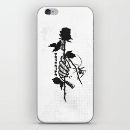 Blackwidow & Rose iPhone Skin