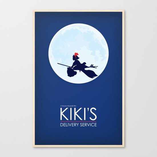Kiki's Delivery Service Canvas Print