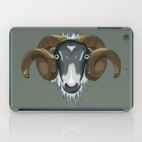 ram iPad Cases featuring Ram by Stu Jones