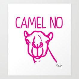 Camel No Art Print