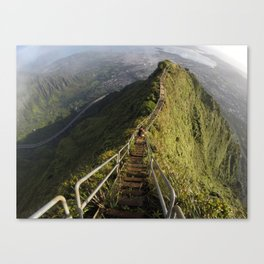 The Stairway To Heaven Canvas Print