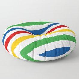 Classic Colour Stripes Floor Pillow