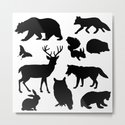 Black and White Animal Patterns by designsoutofmind