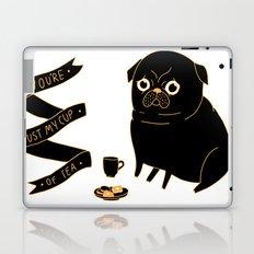 Tea Pug Laptop & iPad Skin