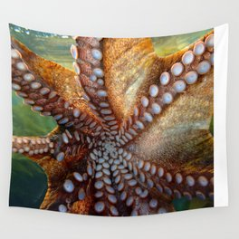 Octopus Arms Wall Tapestry