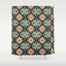 Morrocan Geometric Culture 1 Shower Curtain