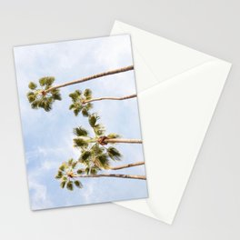 Palm Trees Blue Skies Stationery Cards