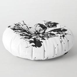 Todoroki Shoto Ink Splatter Floor Pillow