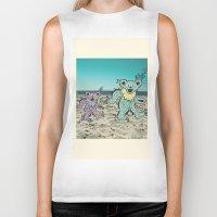 grateful dead Biker Tanks featuring Grateful Dead Beach Cruise by Charlotte hills