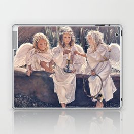 Reproduction Candle in the wind Steve Hanks Laptop & iPad Skin