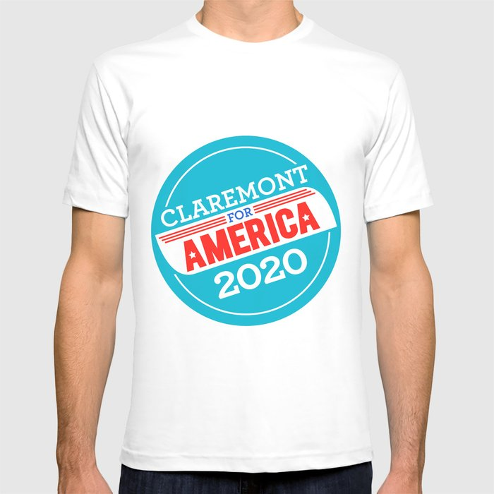 Claremont for America 2020 T-shirt