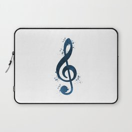 Treble clef Laptop Sleeve