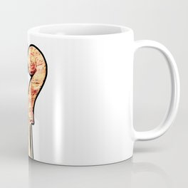 Music lover with two violins in heart shape and musical notes Coffee Mug