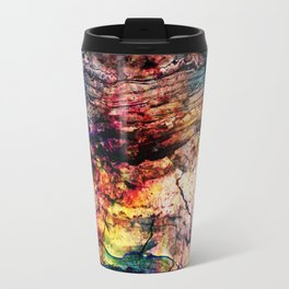 painted marble Travel Mug