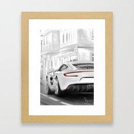 Aston Martins deluxe Framed Art Print
