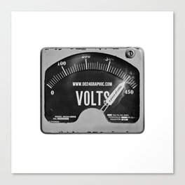 VOLTS Canvas Print