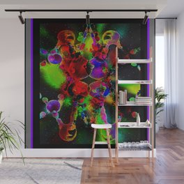 """""""Genetic Memory in Space & Stars"""" by surrealpete Wall Mural"""