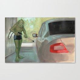 Carwash Canvas Print