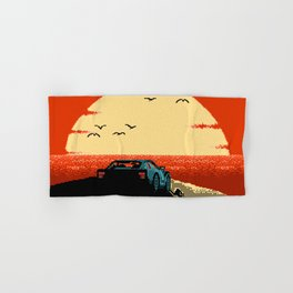 Ibiza Sunset Chillout Hand & Bath Towel