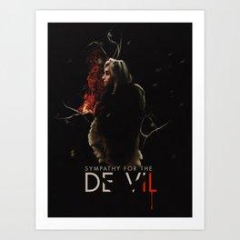 Sympathy for the De Vil Art Print