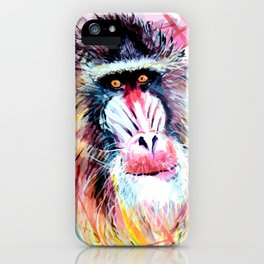 The mandrill iPhone Case