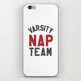 Varsity Nap Team iPhone Skin