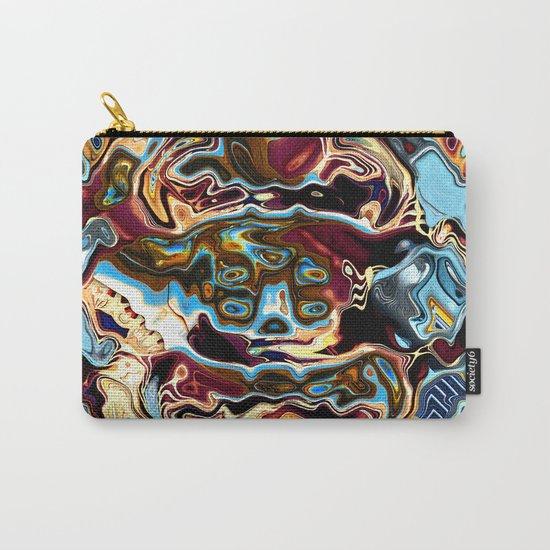 Chaotic Abstract Conglomeration Carry-All Pouch