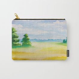 Beautiful Watercolour Landscape Image Carry-All Pouch