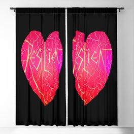 Resilient Kintsukoroi Heart  Blackout Curtain