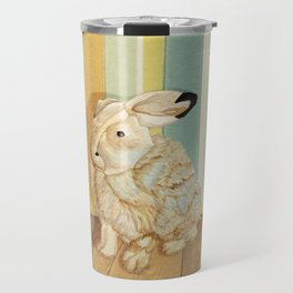 Arctic Hare In The Playroom Travel Mug