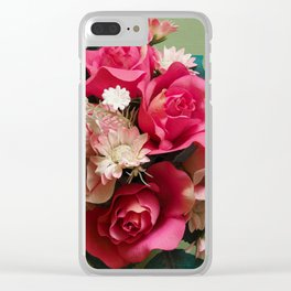 Artificial Bouquet Clear iPhone Case