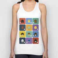 starwars Tank Tops featuring StarWars quotes by Thiago Grossmann