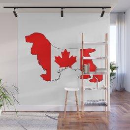 Canada Cocker Spaniel Wall Mural