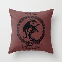 The Drake - 666 Park Avenue Throw Pillow