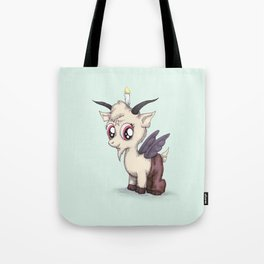 My Little Baphomet Tote Bag