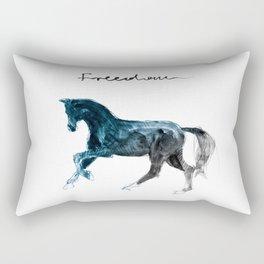 Horse (FREEDOM) Rectangular Pillow