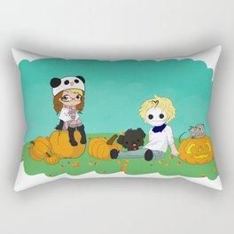 Chey & Cry Pumpkin Fest Rectangular Pillow