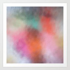 Abstract Square - Colored  Art Print