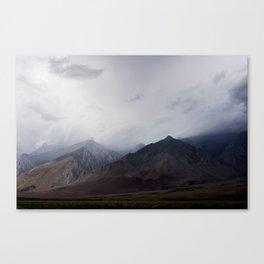 Cloudy Eastern Sierras Canvas Print