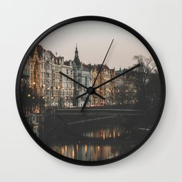 Prague, Czechia Wall Clock