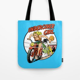 Herstory: Undercover Girl Tote Bag