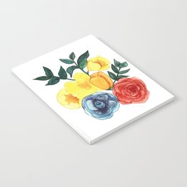 Watercolor Flower Bouquet Notebook