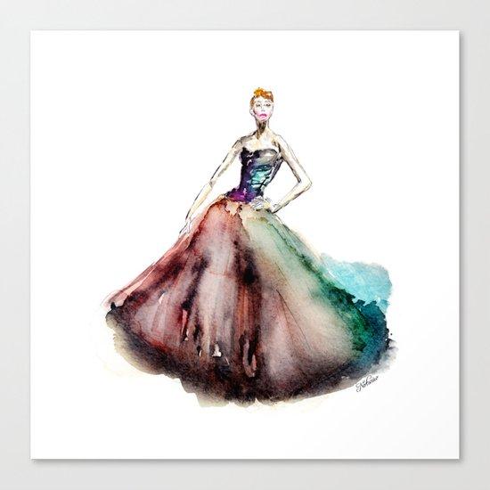 Prima Ballerina Canvas Print