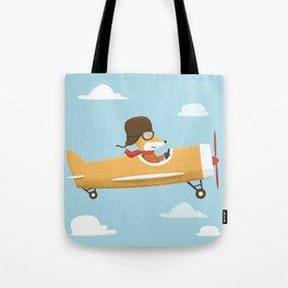Mr. Fox is Flying Tote Bag