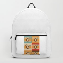 Retro Vintage Camera Gift Hipster Photography Gift Backpack