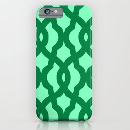 Grille No. 2 -- Seafoam iPhone Case