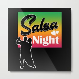 Salsa, Music, Dance Metal Print